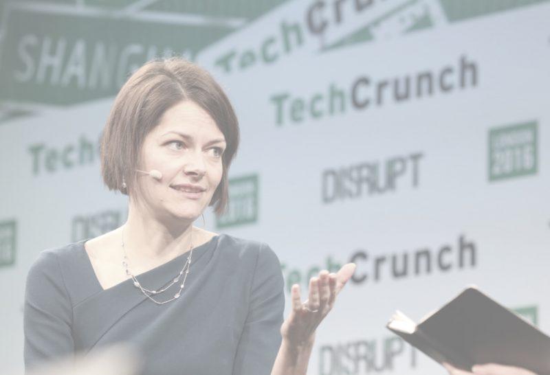 Poppy Gustafsson, CEO of Darktrace